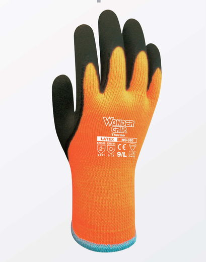 WONDER GRIP WG-380 Thermo työkäsine (6 paria/nippu)