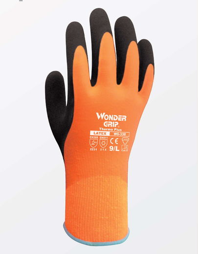 WONDER GRIP WG-338 Thermo Plus työkäsine (120 paria/laatikko)